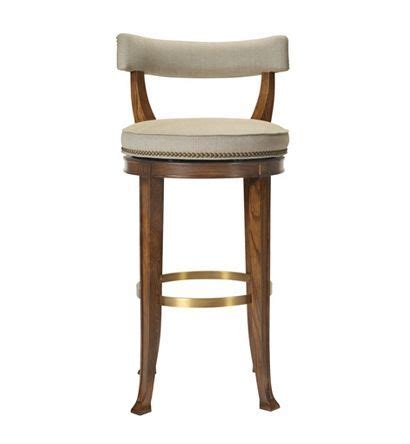 swivel counter stools with low back newbury swivel curved back counter stool from the 1911 9449