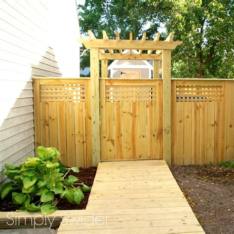 beautiful fences and gates a beautiful fence and gate with an arbor simply swider
