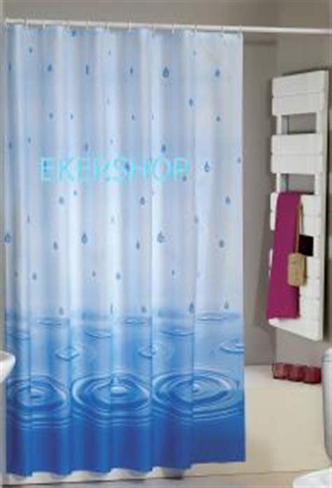Duschvorhang Blau Weiß by Edler Textil Duschvorhang 180 X 200 Cm Quot Wassertropfen