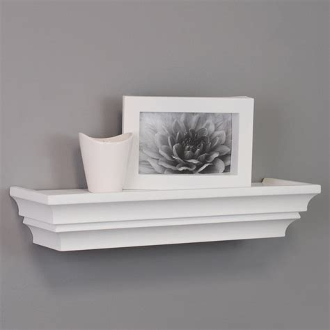 White Shelves On Wall by Top 20 White Floating Shelves For Home Interiors