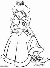 Peach Coloring Princess Mario Rosalina Commission Point Daisy Go Printable Anime Xxx Deviantart Kleurplaten Lineart Coloringhome sketch template