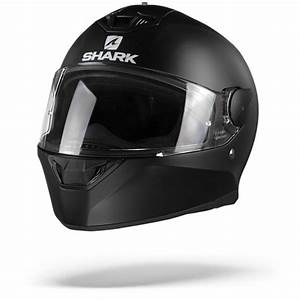 Shark D Skwal 2 Blank Matt Black Kma Full Face Helmet S