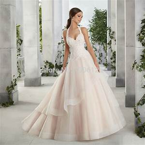 halter top wedding dresses plus size bridal gown champagne With wedding dress tops