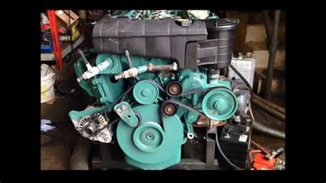 volvo penta   marine engine youtube