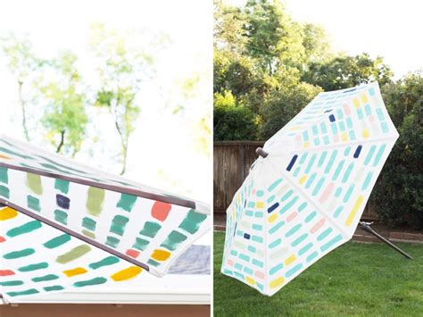 diy painted pattern patio umbrella 187 lovely indeed