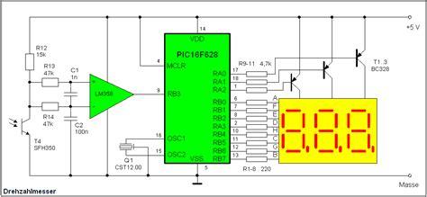 optische drehzahlmessung mikrocontrollernet