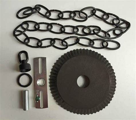 chandelier ceiling plate ceiling plate canopy kit w 3 of chain in kettle black