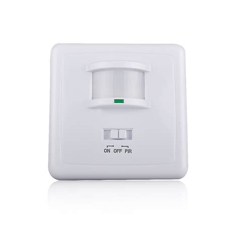wall mounted proximity pir motion sensor switch automatic