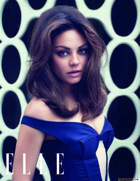 Mila Kunis Tells Elle About Trying To Date In Hollywood Being Funny And Staying Focused