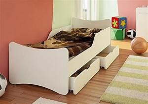 Kinderbett 90x200 Mit Schubladen : best for kids kinderbett mit schaummatratze t v zertifiziert mit zwei schubladen 90x200 ~ Bigdaddyawards.com Haus und Dekorationen
