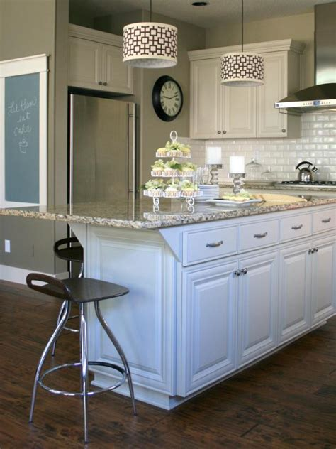 painted islands for kitchens customize your kitchen with a painted island hgtv