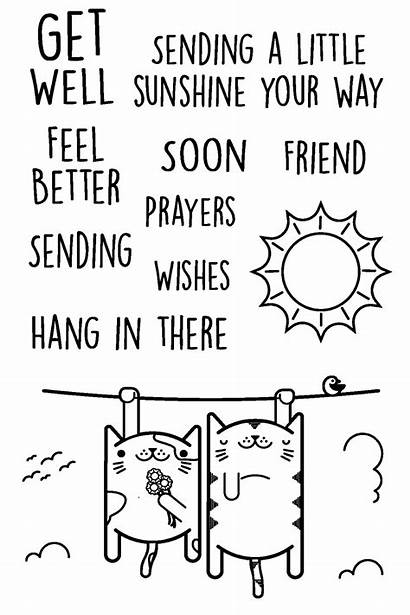 Wishes Well Prayers Stamps Clear Stamp Joyclair