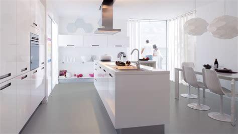 cuisine équipée blanc laqué cuisine equipee laquee blanc cuisine en image
