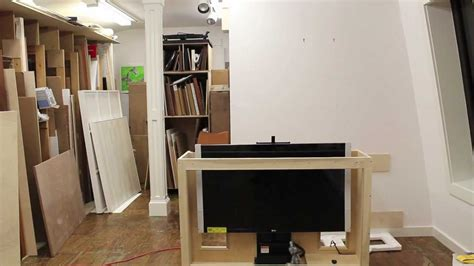 tips  building  tv lift cabinet     bead