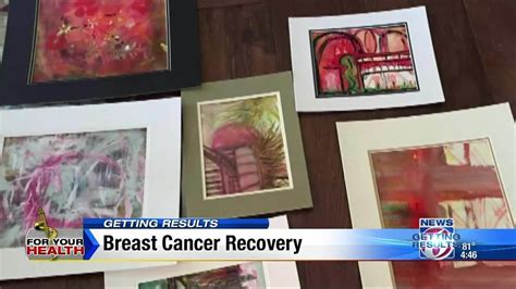 power  art helps breast cancer survivor  recovery