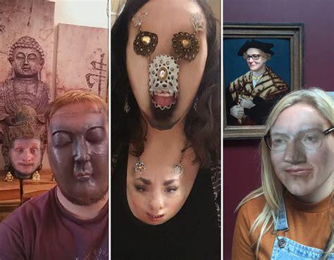 woman face swaps  aeroplane light  creepy snapchat