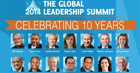global leadership summit  speakers announced
