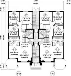 family home floor plans multi family plan 52764 at familyhomeplans com