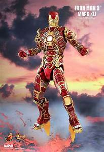 Battery Operated Picture Light Toys Iron Man 3 Bones Mark Xli Retro Armor