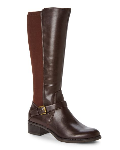 franco sarto brown council riding boots brown lyst