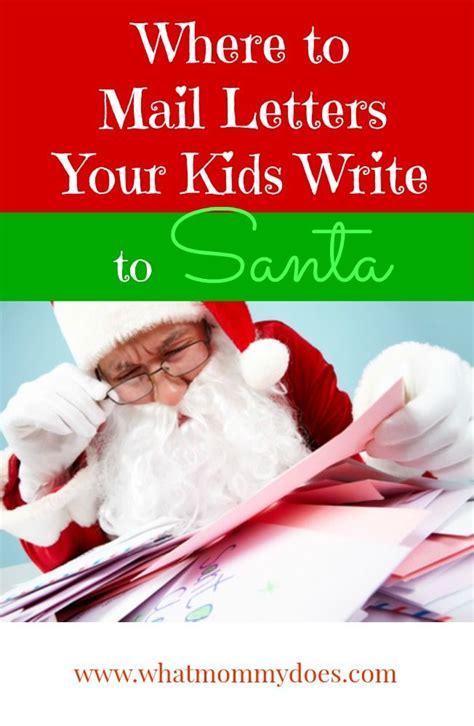 santa claus real mailing address kids writing santa