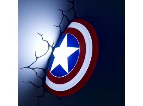 marvel 3d captain america shield wall light dealbuyer