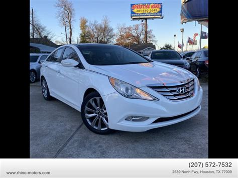 Prior to joining the ups store, michelle held various leadership roles for ford motor company, including in customer service, product development, strategy, sales, marketing and advertising. USED HYUNDAI SONATA for sale in Houston, TX | Rhino Motors