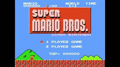 Mario Super Screen Title Bros Nes