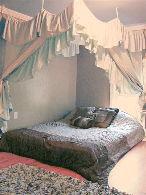 bed canopy diy 20 magical diy bed canopy ideas will make you sleep romantic architecture design