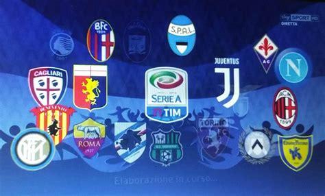 Serie A by Serie A Anticipi E Posticipi Napoli Juventus Si Gioca Di