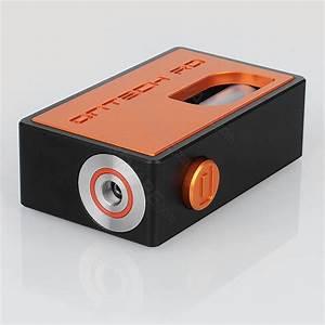 Ontech Rd Icarus Style Orange Aluminum 8ml 18650 Bf Mechanical Box Mod