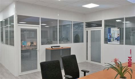 cloison bureaux les applications pour nos cloisons d 39 atelier cabine et