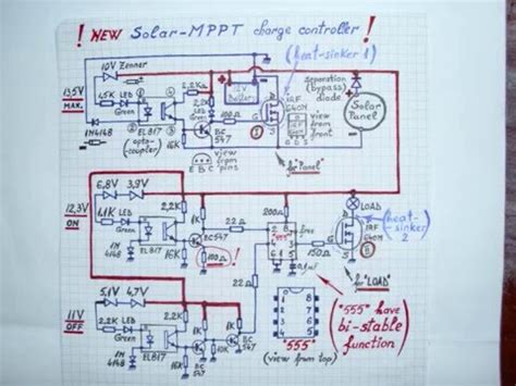 Solar Mppt Charge Controller Circuit Diagram New