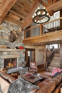 44, Extremely, Cozy, And, Rustic, Cabin, Style, Living, Rooms