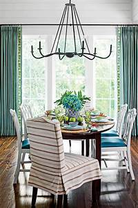 stylish dining room decorating ideas southern living With kitchen cabinet trends 2018 combined with nautical rope wall art
