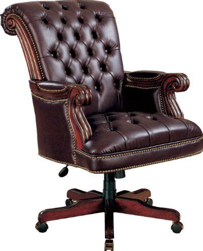 coaster traditional executive office chair nail trim