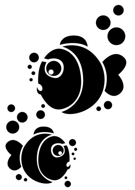 pochoir mural a imprimer pochoir theme poisson d avril aux petites trouvailles