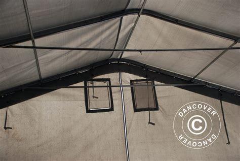 tende capannoni capannone tenda pro 7x14x3 8m pvc grigio dancovershop it