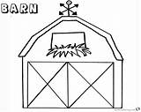 Barn Coloring Pages Window Printable Flowers Bettercoloring sketch template