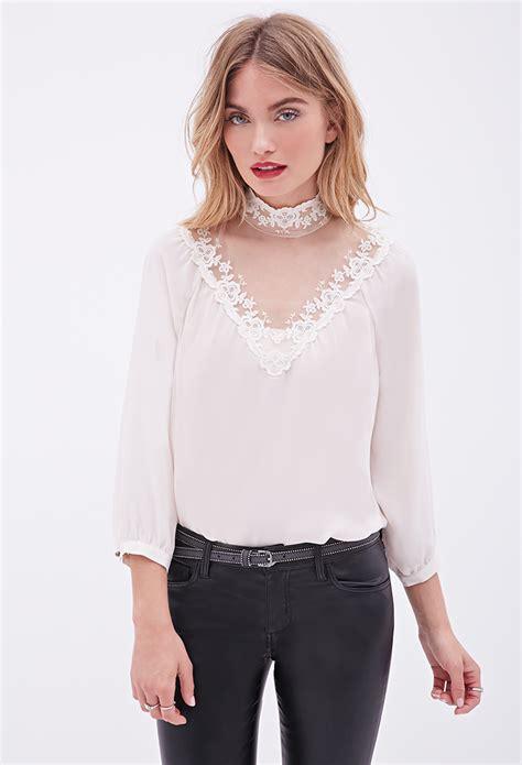 high neck blouse zara high neck blouse silk blouses