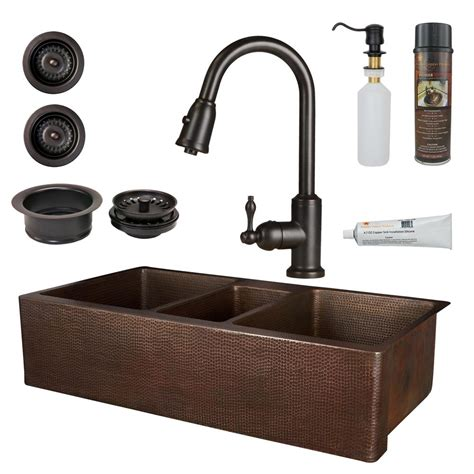 astracast kitchen sinks premier copper products all in one copper 42 in 1376