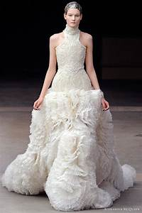 Alexander mcqueen fall winter 2011 collection wedding for Alexander mcqueen wedding dresses
