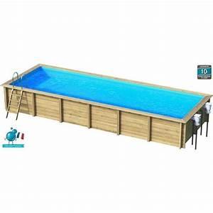 Piscine Bois Pas Cher : weva piscine bois rectangle 9x3 m hauteur 1 33 m achat ~ Melissatoandfro.com Idées de Décoration