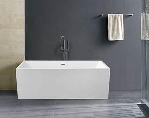 Freistehende Badewanne Bilder : bw ix001 178x80x60 cm freistehende badewanne aus acryl wanne mit ab berlauf ebay ~ Sanjose-hotels-ca.com Haus und Dekorationen