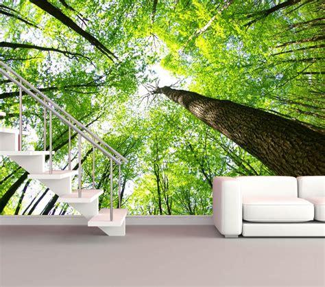 Fototapete Blick Aus Dem Fenster Wald Olegoffcom