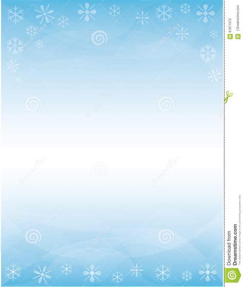 winter brochure background stock illustration