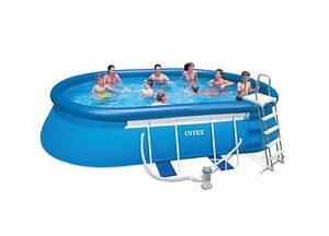 Cash Piscine Toulouse : piscine intex ellipse ovale 5 49x3 05x1 07 cash piscines ~ Melissatoandfro.com Idées de Décoration