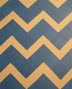 how to create a tabletop chevron pattern sunset magazine With how to make a chevron template
