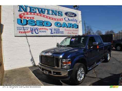 Newins Ford by 2008 Ford F250 Duty Lariat Crew Cab 4x4 In Blue