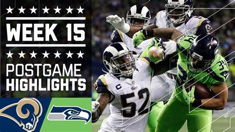 rams  seahawks nfl week  game highlights doovi
